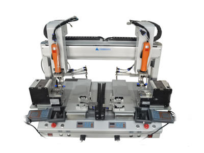 Double Y automatic screw machine
