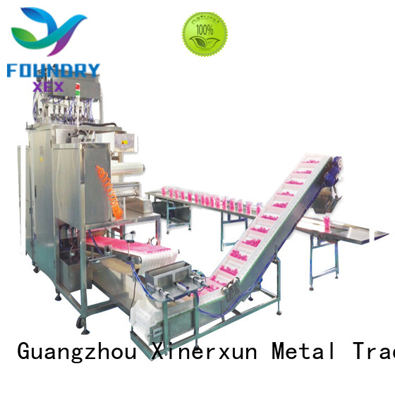 XEX automative machine working for packing