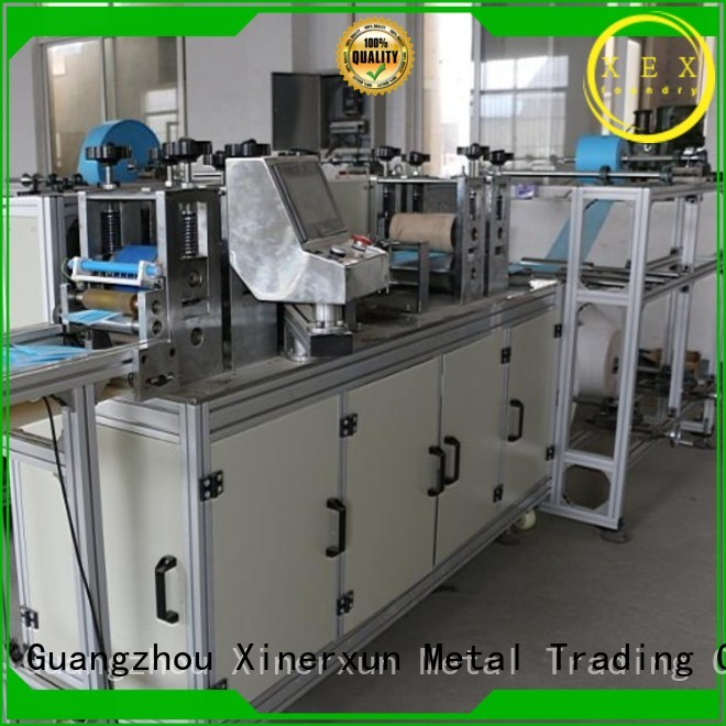 XEX high precision kn95 machine supplier for mask