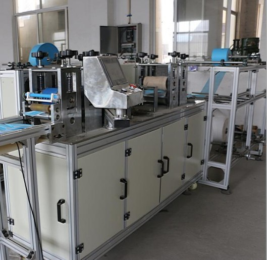 Chinese manufacturer of automatic non-woven face cover machine for medical use