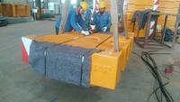 Terex large crane counterweight iron block / Liebherr 10 tons casting balance weight block