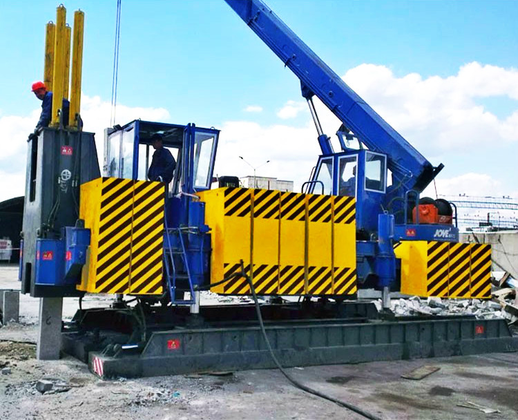 China OEM Counter weight for Hydraulic static pile driver