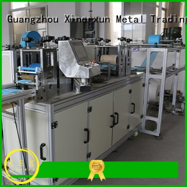 XEX surgical face mask making machine working for making mask