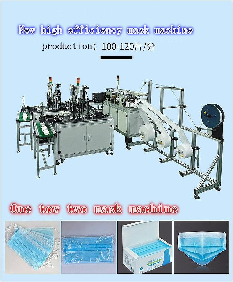 customized automatic face mask making machine price for mask-1