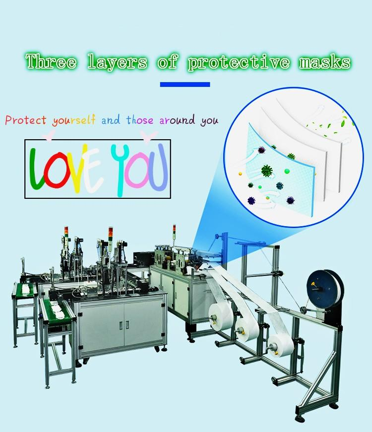 customized automatic face mask making machine price for mask-2
