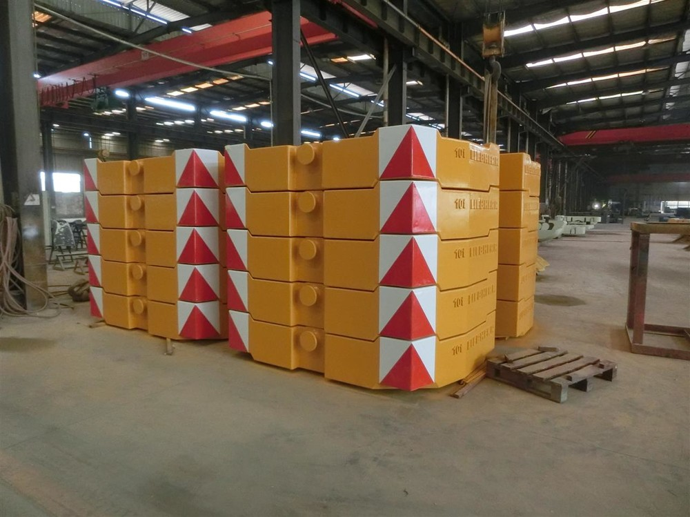 Mechanical Counterweight Iron Block for Machinery and Ships with Sand Casting