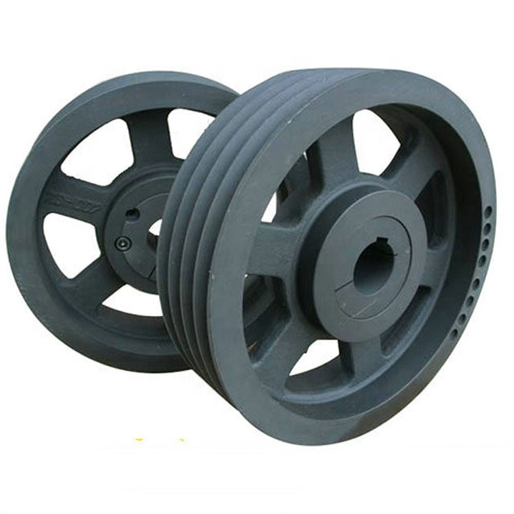 Traction Machine Pulley, Elevator Deflect Sheave, Iron Casting Guide Wheel