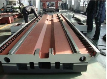 Large Gantry Milling Machine Crossbeam and Base Sand Casting