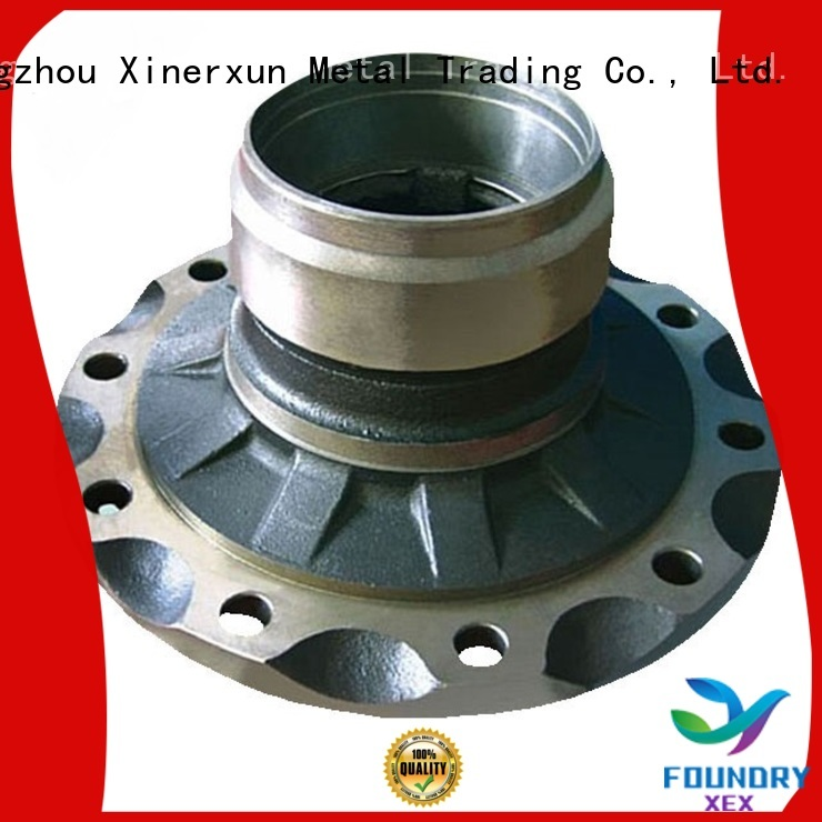XEX steel lost foam casting supplies manufacturers for auto