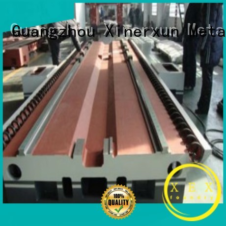 XEX customized sand mold casting machine parts for kitchen