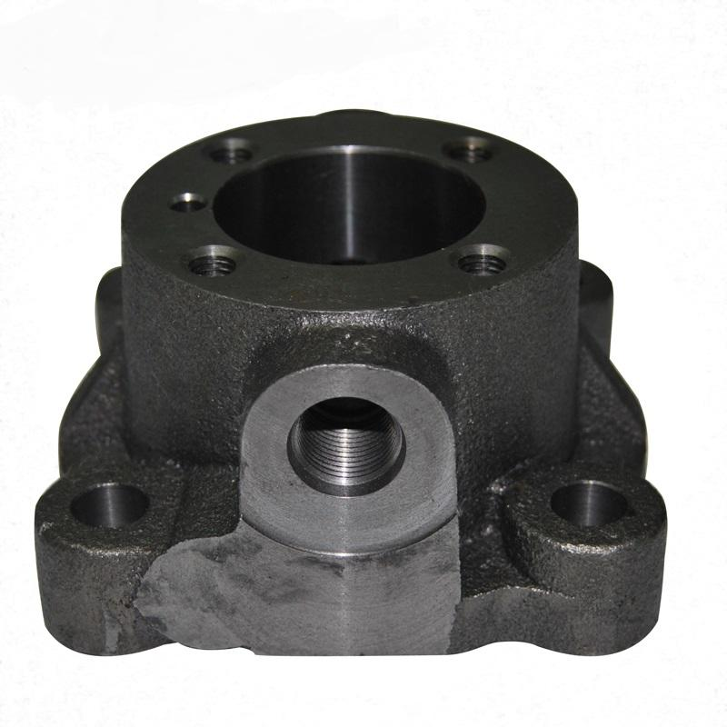 customized ductile iron casting process for pumps-1