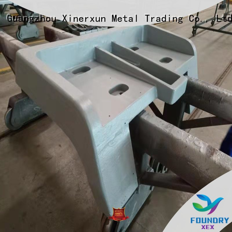 XEX sand mold casting machine parts uese for vehicle