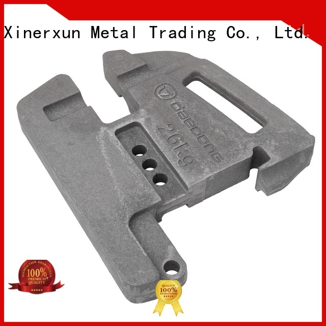 XEX Lift counter weight working for machinery