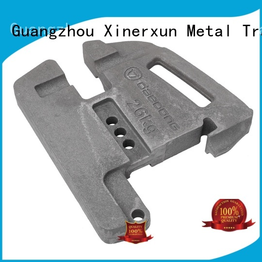customized Terex crane counter weight working for vehicle