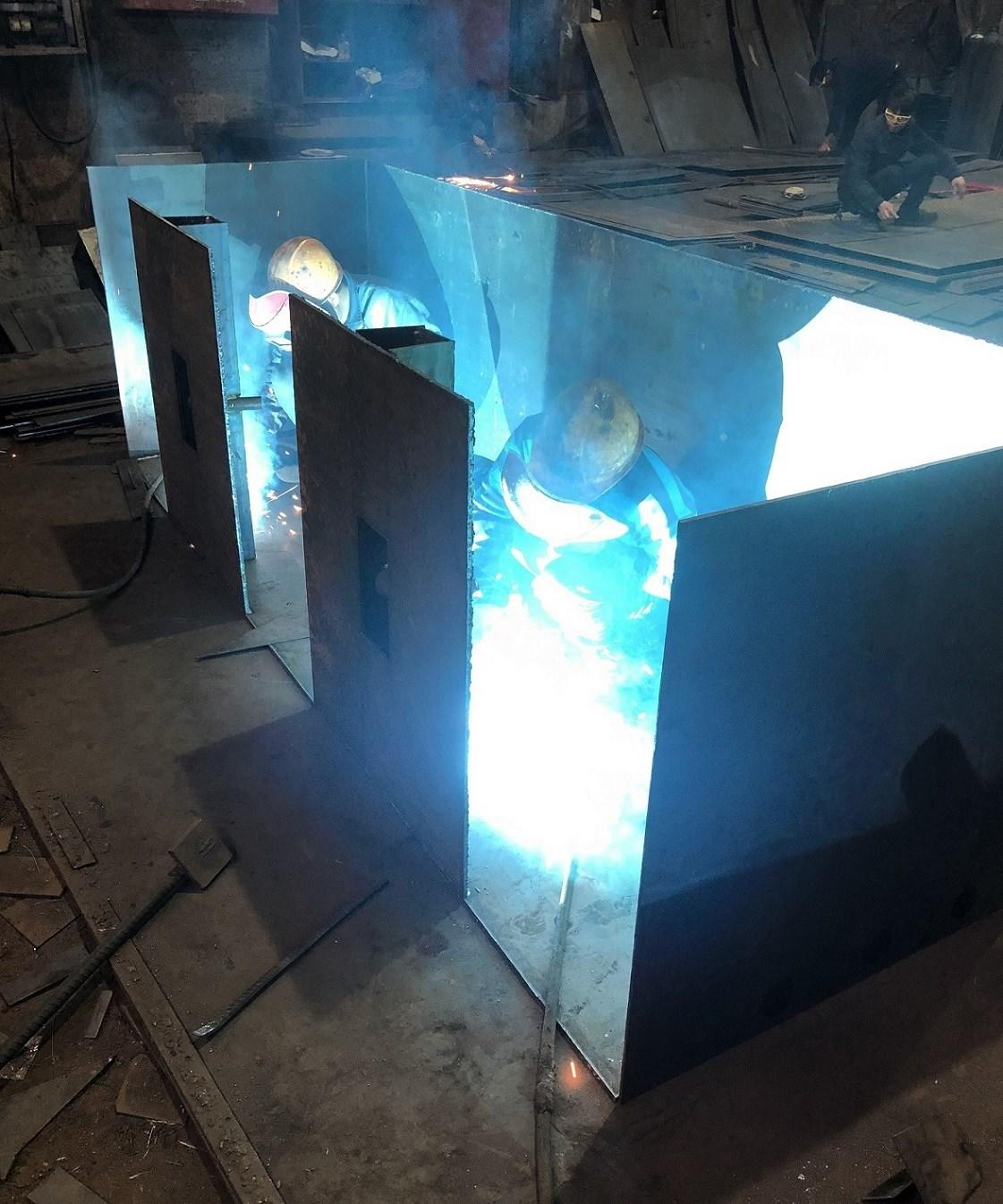 XEX sand casting aluminum working for machinery-3