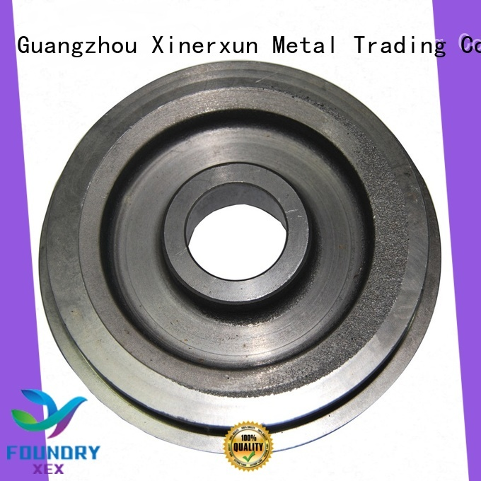 XEX grey ductile iron sand casting parts manufacturers for auto