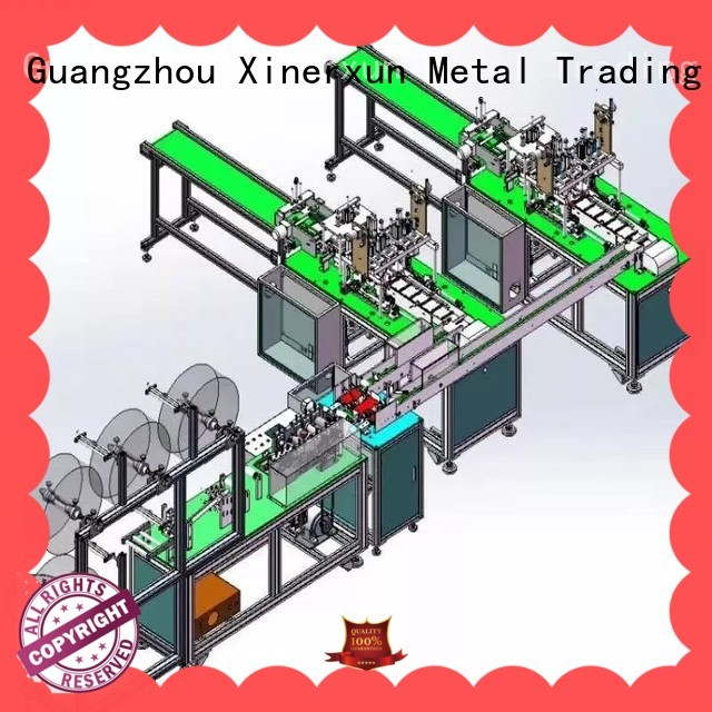 XEX automated production line style for metal