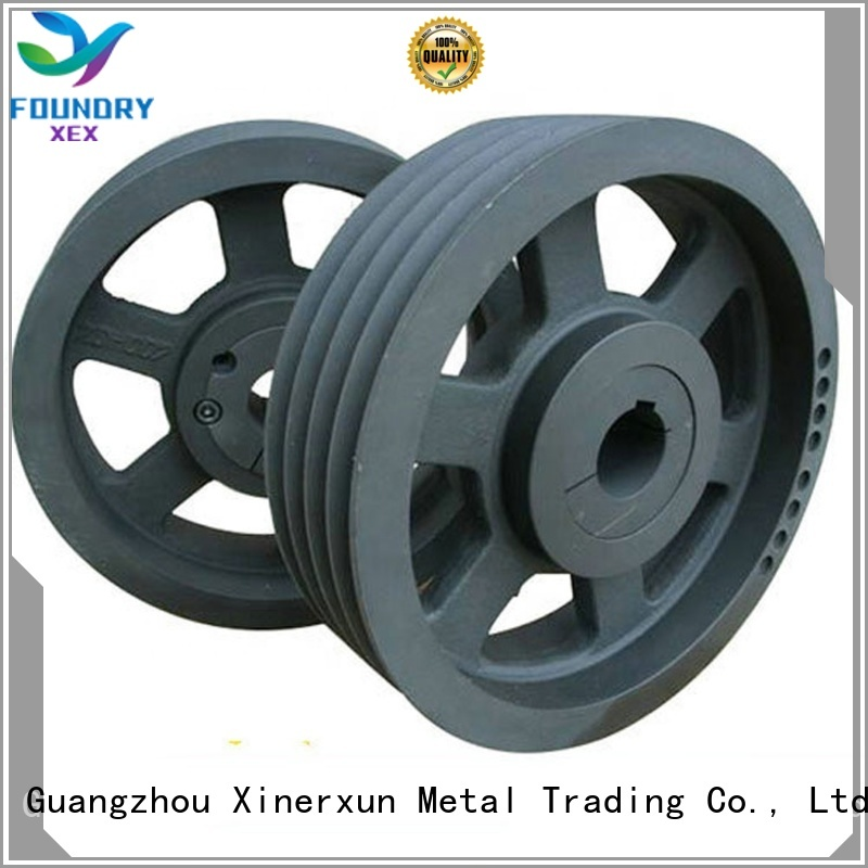 XEX high quality sand casting elevator balance block working for machinery