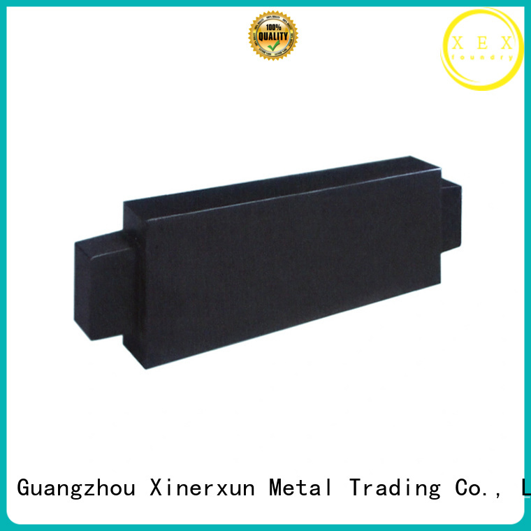 XEX static pile machine ore counterweight block working for vehicle