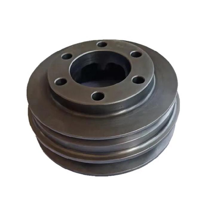 China Customized Cast Iron Crankshaft Pulley Casting Manufacturer