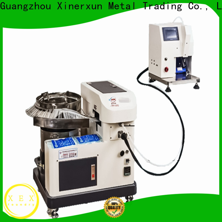 customized automated industrial machinery working for metal
