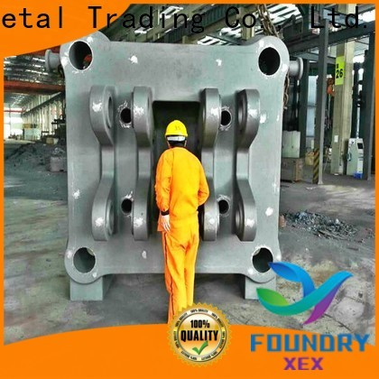 high quality static pile machine ore counterweight block working for vehicle