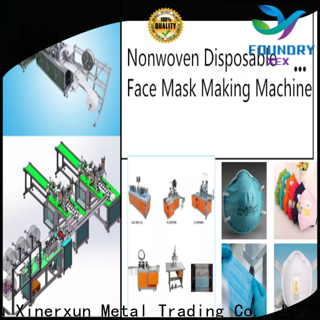 XEX kn95 mask machine working for mask