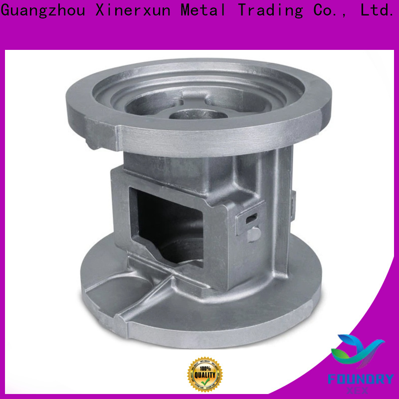 XEX steel lost foam sand casting manufacturers for vehicle