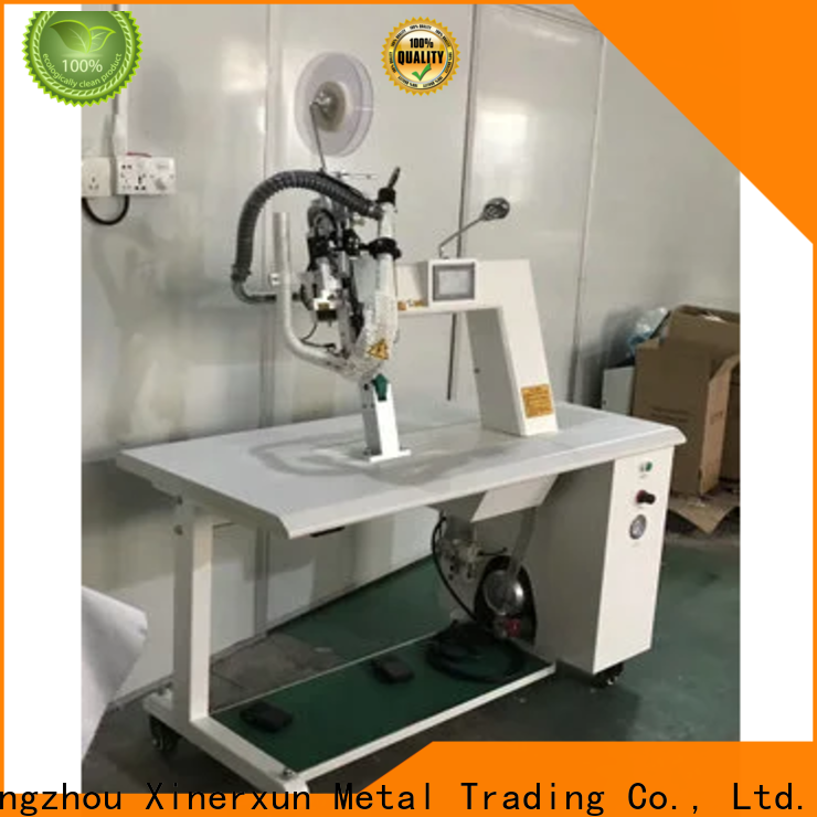 XEX intelligent bottle capping machine working for testing