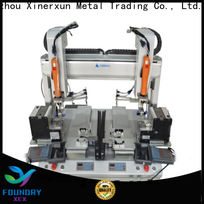 XEX automatic labeling machine working for packing