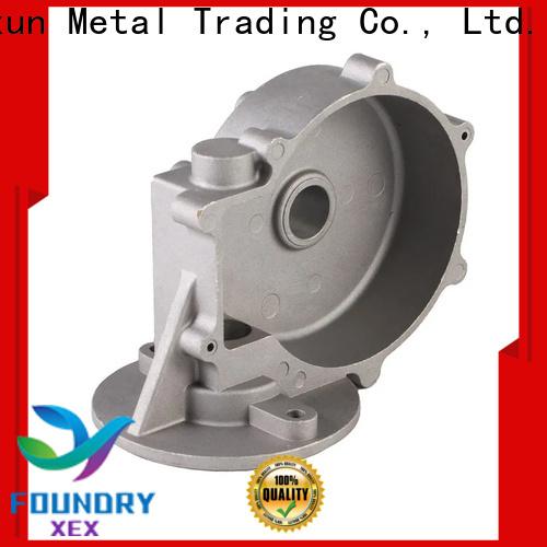 XEX aluminium pressure die casting process for motor
