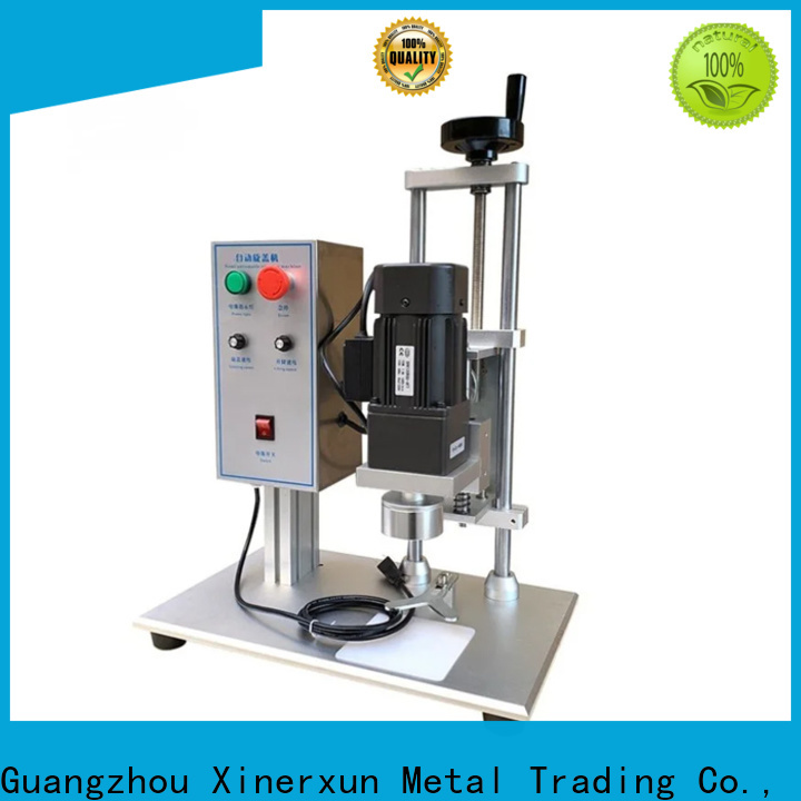 XEX customized automatic capping machine price for metal