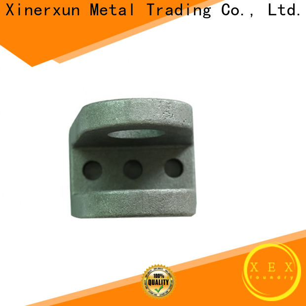 XEX sand cast counterweight iron uese for vehicle