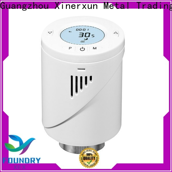 XEX high precision trv thermostatic radiator valve foundry for home