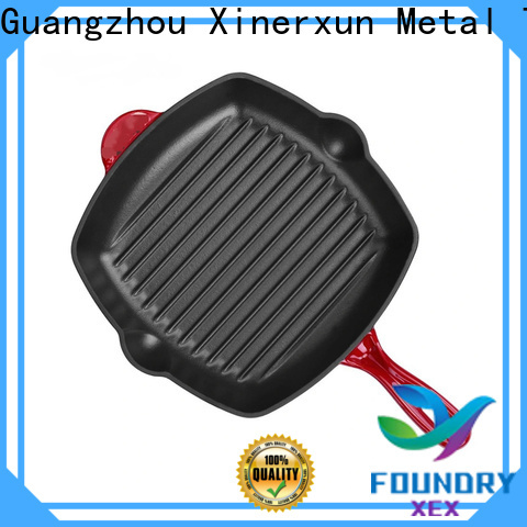XEX cast iron griddle pan price for kitchen