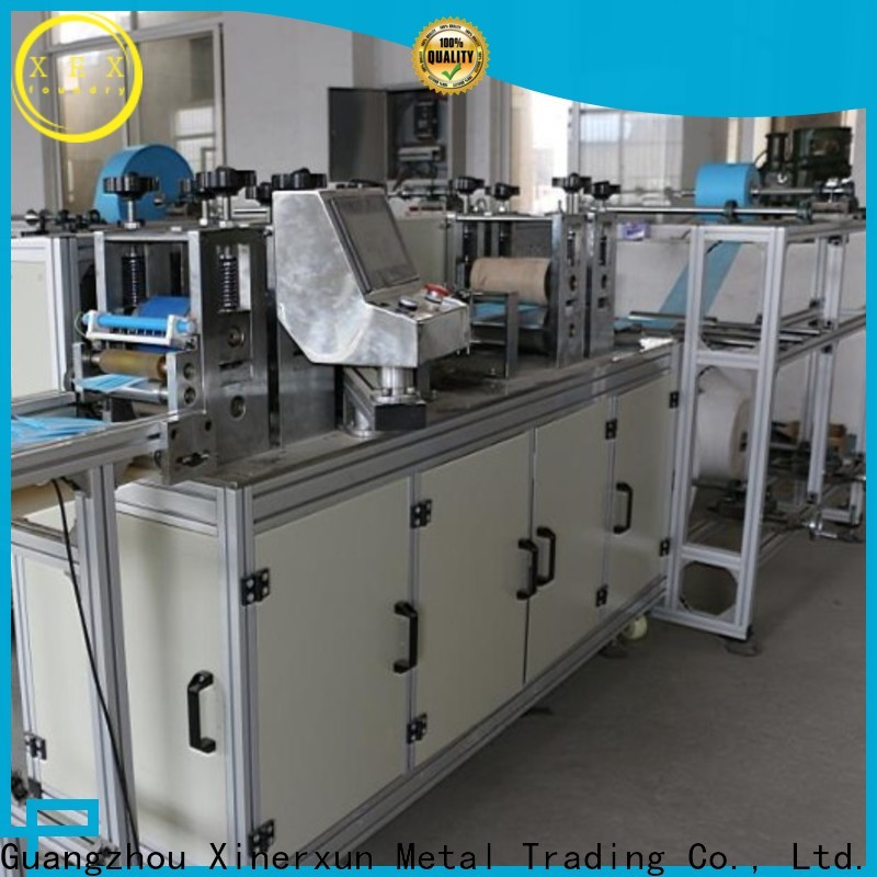 XEX high quality disposable face mask manufacturing machine supplier for medical mask making