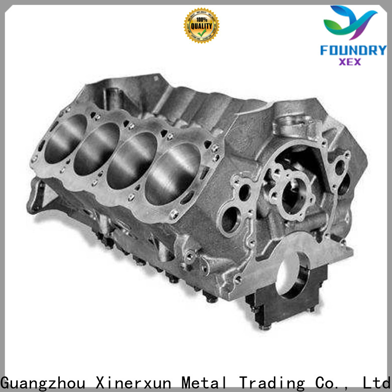 customized aluminum die casting components machine for motor