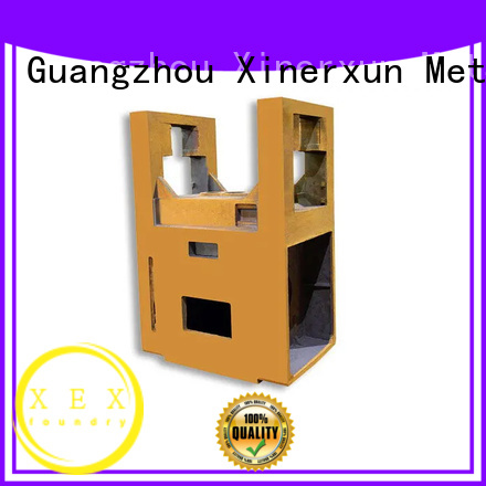 XEX customized sand cast counterweight iron working for machinery