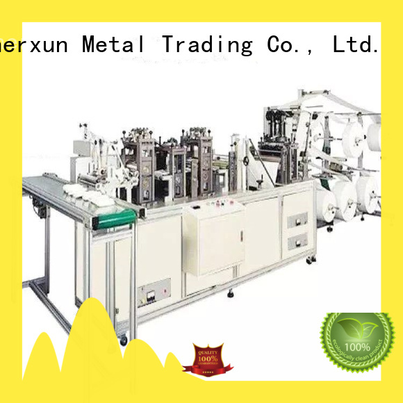 XEX automatic packaging equipment working for machinery