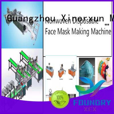 XEX medical mask making machine working for making mask