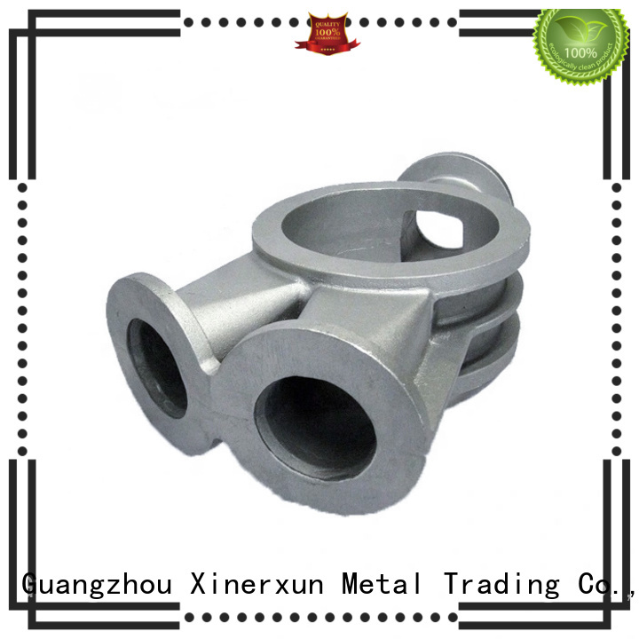XEX ductile iron foundry process for metal
